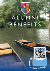 Alumni Benefits Brochure Front Cover Image